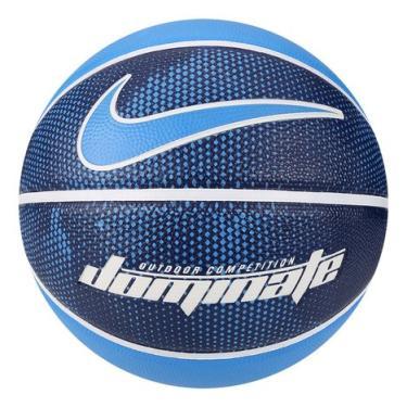 8a71f06b1 Bola Basquete Nike Dominate 8P - Azul e Branco