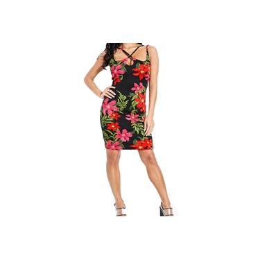 Vestido Guess Florido tamanho GG lançamento