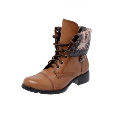 Bota Mega Boots 3007 Bege  feminino