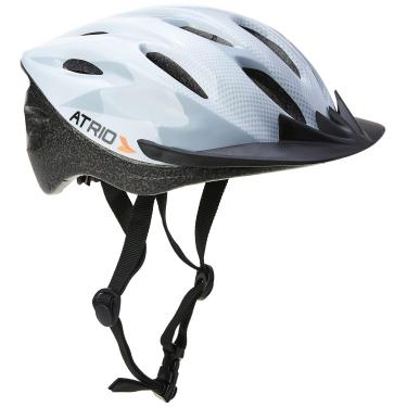 Imagem de Capacete para Ciclismo MTB 2.0 Tam. G Viseira Removível e 19 Entradas de Ventilação Branco/Cinza - BI165 Atrio Adultos