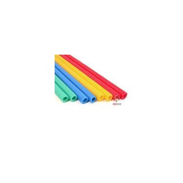 Imagem de Kit Isotubo Blindado Para Haste Pula Pula + Capa 12 Unidades