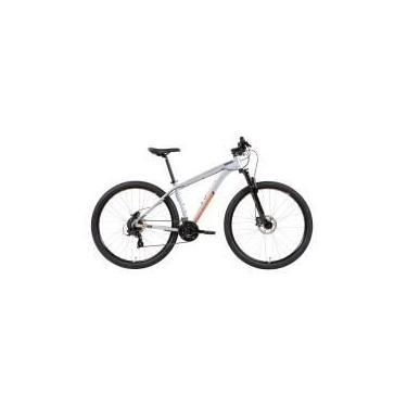 Imagem de Bicicleta Caloi 29 Mountain Bike Alumínio com Suspensão Dianteira 24 Velocidades Aro 29 Freio a Disco Cinza