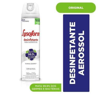 Desinfetante Lysoform Aerosol Original 360ml
