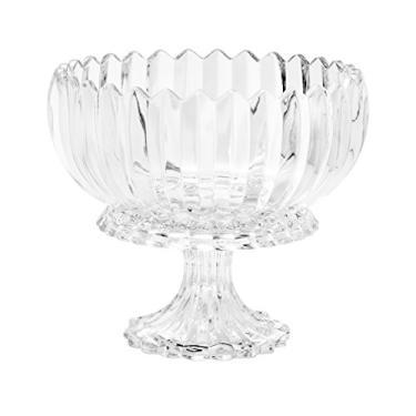 Fruteira de Cristal de Chumbo com Pé Rojemac Transparente