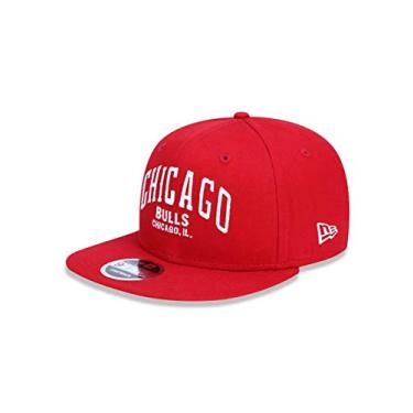 2db6bacdb BONE 950 ORIGINAL FIT CHICAGO BULLS NBA ABA RETA SNAPBACK VERMELHO NEW ERA