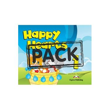 Happy Hearts Us 1 Pupil´s Pack 1 (sb +stickers+press Outs+extra Optionails 14, Songs Cd &dvd Pal/ntsc)
