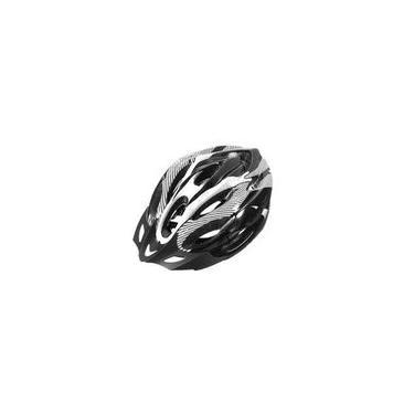 Imagem de Capacete Para Ciclismo Bike Adulto Com Alça ajustável - Branco