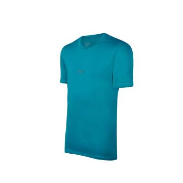 Speedo Basic Stretch Camiseta de Manga Curta, Homens, Verde, G