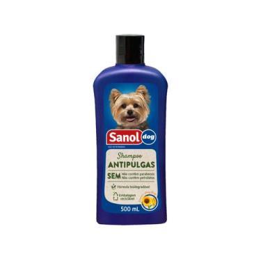 Shampoo para Cachorro Antipulgas - Sanol Dog 500ml