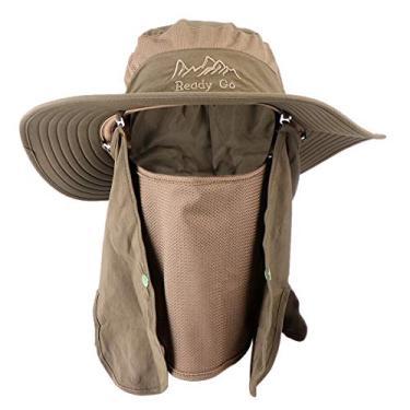 SOIMISS Chapéu de verão da moda de dupla face Chapéu de proteção solar elegante Chapéu simples estilo casual para fora (verde)