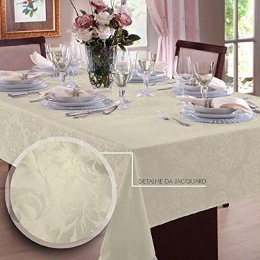 Imagem de Toalha de mesa Retangular em Jacquard 8 Lugares | Admirare