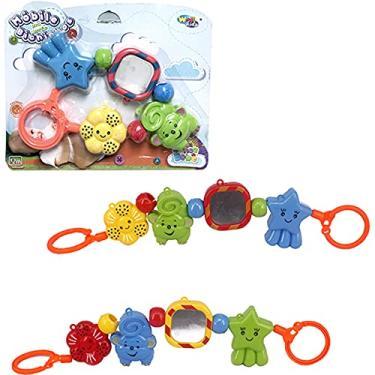Imagem de Mobile Baby Bichinhos Sortidos e Coloridos para Carrinho de Bebê ou Berço