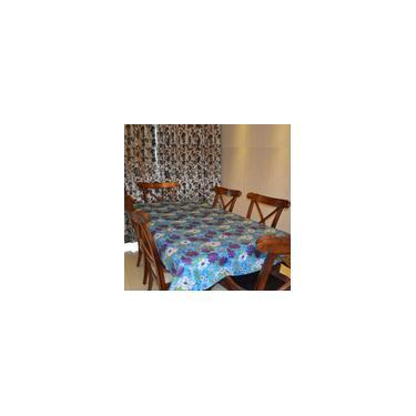 Imagem de Toalha de mesa com estampa floral floral toalha de mesa tapete de pano de chá casa 140 * 220 cm