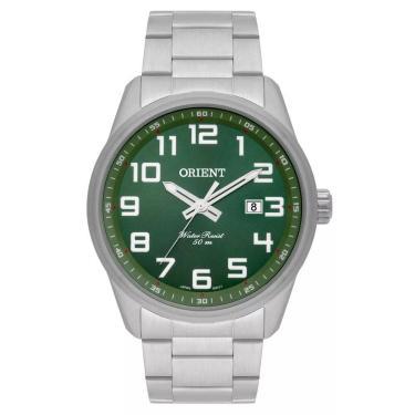 e26db54f702 Relógio Masculino Orient Mbss1271 E2sx - Prata