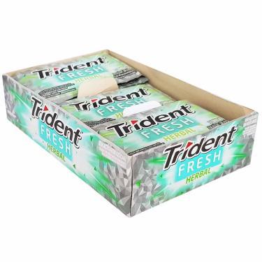Chiclete Trident Fresh Herbal Mondelez 21 Unidades 11018