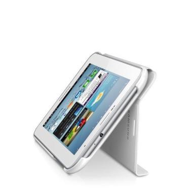 Capa P/ Tablet Samsung Galaxy Tab 2.7' Samsung Book Cover Branca Efc-1G5swecstd Samsung