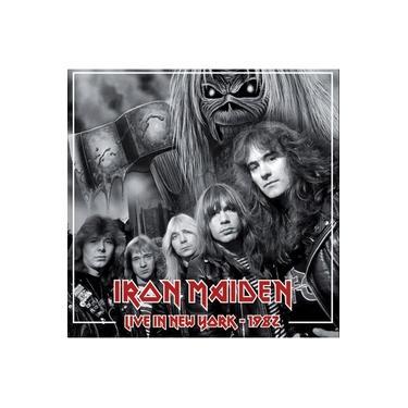 CD - Iron Maiden - Live in New York 1982 (Bootleg Importado)