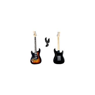 Imagem de Guitarra Land Canhoto Sunburst L-g1-lh Suporte De Parede