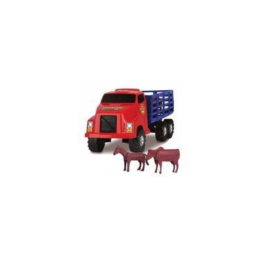 Imagem de Caminhão Boiadeiro Plástico Cores Sortidas - 13546
