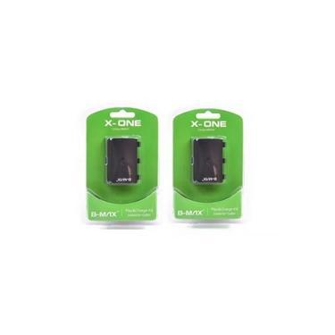 Kit 2 Baterias E 2 Cabos Usb Para Controle Xbox One Sem Fio B-max Bm-543