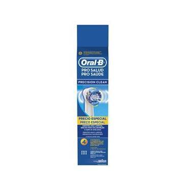 Imagem de Refil para Escova de Dente Oral-B Elétrica Precision Clean - 4 unidades