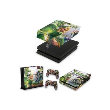 Capa Anti Poeira e Skin para PS4 Fat - Plants Vs Zombies Garden Warfare