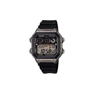 394c497243e Relógio Masculino Casio Digital Esportivo Ae-1300WH-8AVDF Casio