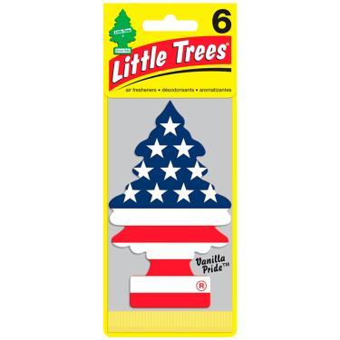 Aromatizante Little Trees Árvorezinha Cheirinho para Carro - Vanillaroma USA