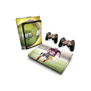 Skin Adesivo para PS3 Super Slim - Fifa 15
