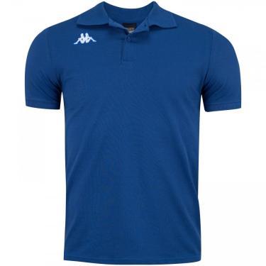 Camisa Polo Kappa Essential Sport - Masculina Kappa Masculino