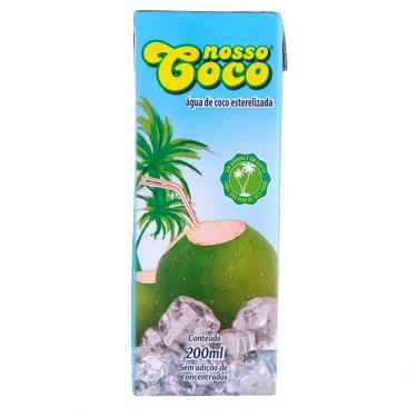 Imagem de Água De Coco Natural Orgânico Nosso Coco com 200ml 200ml