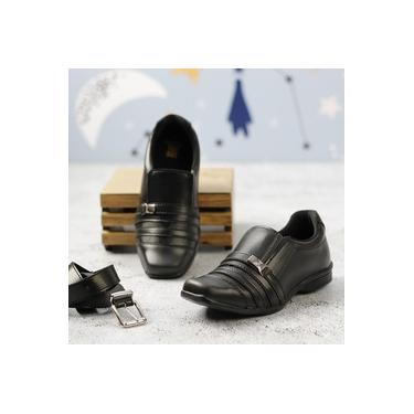Sapato Social C/Cinto Redmax Preto Infantil B934