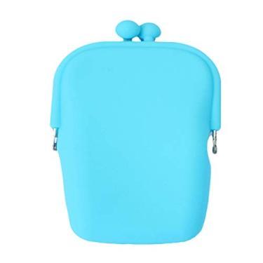 Cabilock 1 peça de silicone cor geleia mini telefone moeda dinheiro maquiagem cartão bolsa carteira suporte bolsa carteira bolsa (cor aleatória)
