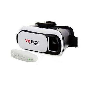 Oculos De Realidade Virtual 3d E Controle Bluetooth - Vr Box