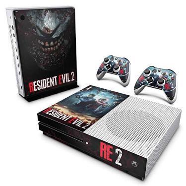 Skin Adesivo para Xbox One Slim - Resident Evil 2 Remake