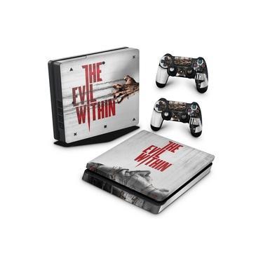 Skin Adesivo para PS4 Slim - The Evil Within