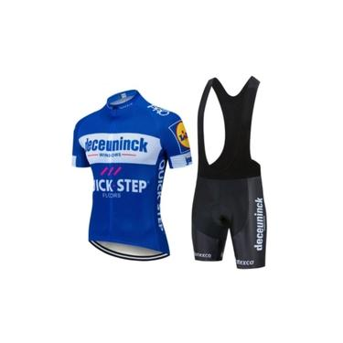 Roupa Ciclismo Masculino Bretelle Gel 9d + Camisa Ciclista