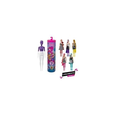 Imagem de Barbie Fashionista Color Reveal Tubo Surpresa - Mattel