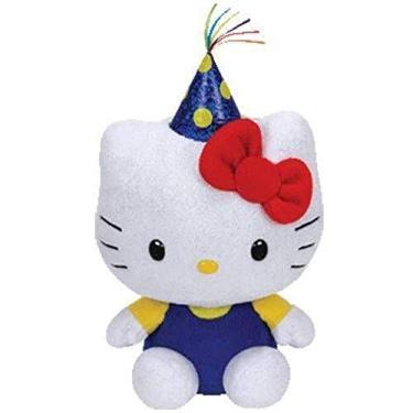 Imagem de Pelucia Beanies Babies Ty Hello Kitty 18 Cm Dtc