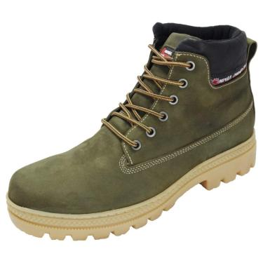 Bota Atron Shoes Adventure Ride Work Chumbo  masculino