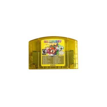 18 Em 1 Cartas de Jogo Cartão Cartucho de Jogo de Vídeo Cartão de Mario Party 1 2 3 Agregação 15 NES Edition Jogo de Suporte Para Nintendo N64 EUA versão