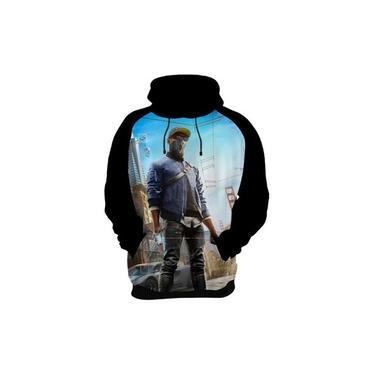 Camiseta Blusa Moletom Watch Dogs Xbox One Ps4 Jogos Kids 05