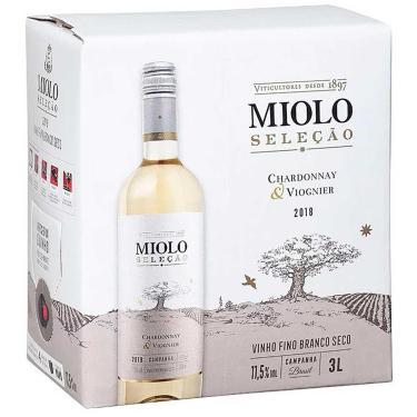 Vinho Miolo Seleção Chardonnay & Viognier 3L