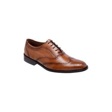 Sapato Social Oxford Cromo Argentino Caramelo 404 Tamanho De Calçado Adulto:46