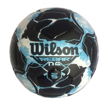 0f6b5b6f3f Bola Futebol No. 5 Rebar Wilson - Azul Preto
