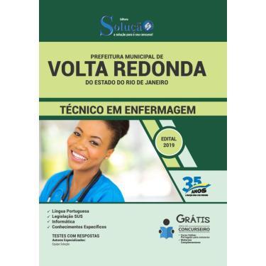 Imagem de Apostilaprefeitura Volta Redonda RJ Técnico de Enfermagem.