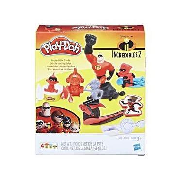 Imagem de Figura e Massa de Modelar - Play-Doh - Disney - Os Incríveis 2 - Hasbro Hasbro