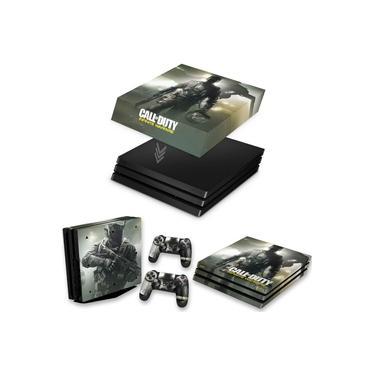 Capa Anti Poeira e Skin para PS4 Pro - Call Of Duty: Infinite Warfare
