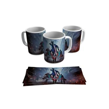 Caneca Devil May Cry 5 Jogo Vídeo Game Gamer Geek