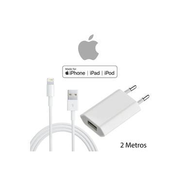 Carregador Completo 2m iPhone Original 5 6 7 8 X 11 e 12